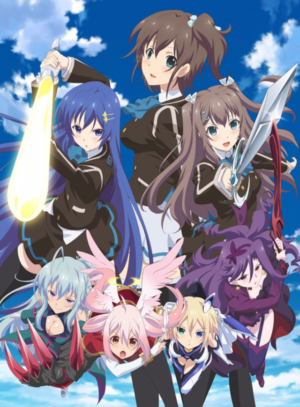 Capa do anime Ange Vierge
