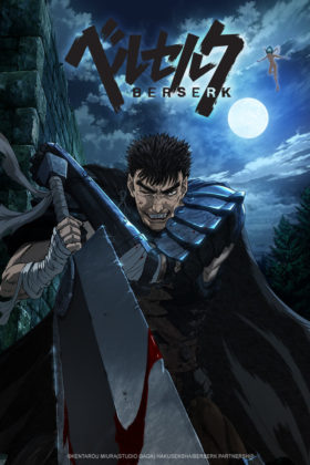 Capa do anime Berserk (2016)