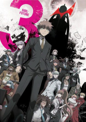 Capa do anime Danganronpa 3: The End of Kibougamine Gakuen Mirai-hen