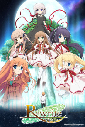 Capa do anime Rewrite Anime