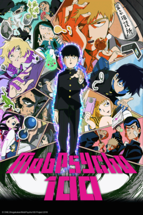 Capa do anime Mob Psycho 100