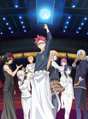 Capa do anime Shokugeki no Souma: Ni no Sara 2° Temporada