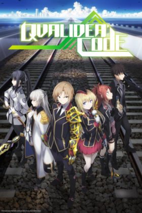 Capa do anime Qualidea Code