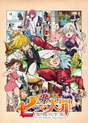 Capa do anime Nanatsu no Taizai – Seisen no Shirushi