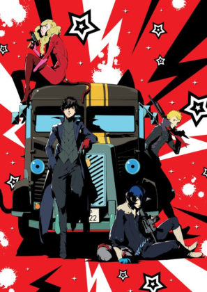 Capa do anime Persona 5 the Animation: The Day Breakers