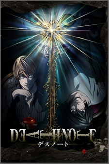 Capa do anime Death Note