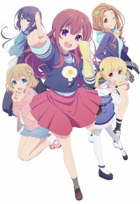 Capa do anime Girlish Number