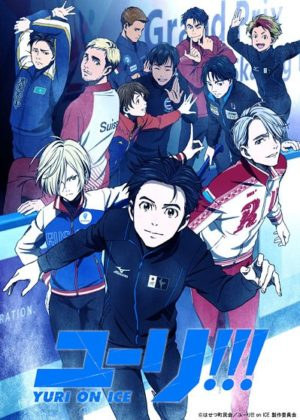 Capa do anime Yuri!!! on Ice