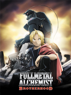 Capa do anime Fullmetal Alchemist Brotherhood