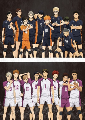 Capa do anime Haikyuu!! 3° temporada