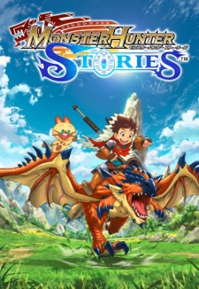 Capa do anime Monster Hunter Stories: Ride On