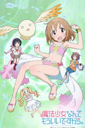 Capa do anime Mahou Shoujo Nante Mouiidesukara