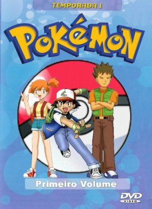 Capa do anime Pokemon 1° Temporada