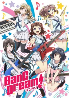 Capa do anime BanG Dream!
