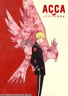 Capa do anime ACCA: 13-ku Kansatsu-ka