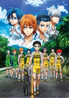 Capa do anime Yowamushi Pedal: New Generation