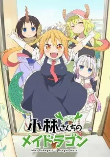 Capa do anime Kobayashi-san Chi no Maid Dragon