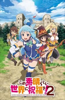 Capa do anime Kono Subarashii Sekai ni Shukufuku wo! 2 Temporada