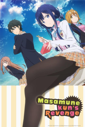 Capa do anime Masamune-kun no Revenge