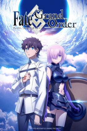 Capa do anime Fate/Grand Order ‐First Order‐