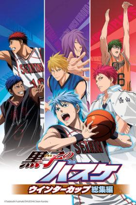 Capa do anime Kuroko no Basket – Copa de Inverno