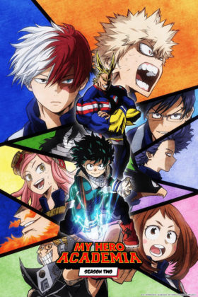 Capa do anime Boku no Hero Academia 2° Temporada