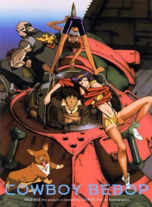 Capa do anime Cowboy Bebop