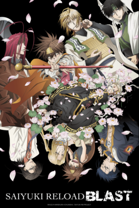 Capa do anime Saiyuki Reload Blast