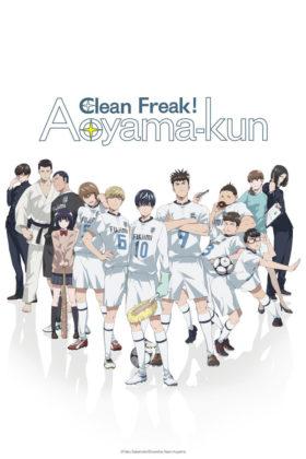 Capa do anime Keppeki Danshi! Aoyama-kun
