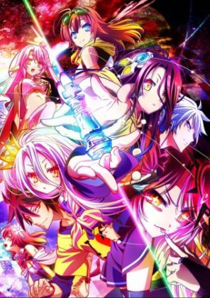 Capa do anime No Game No Life Zero