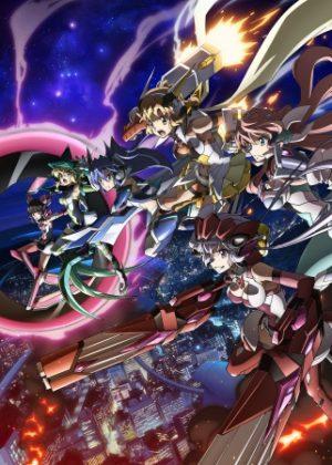 Capa do anime Senki Zesshou Symphogear AXZ