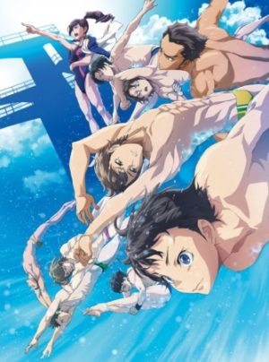 Capa do anime Dive!!