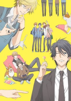Capa do anime Hitorijime My Hero