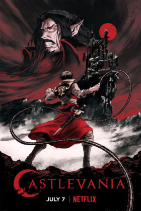 Capa do anime Castlevania