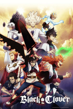 Capa do anime Black Clover
