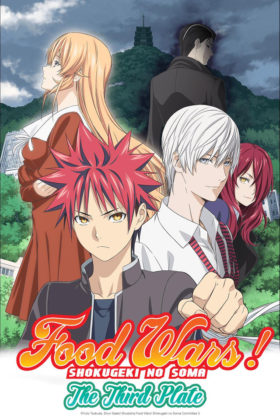Capa do anime Shokugeki no Souma: San no Sara 3° Temporada