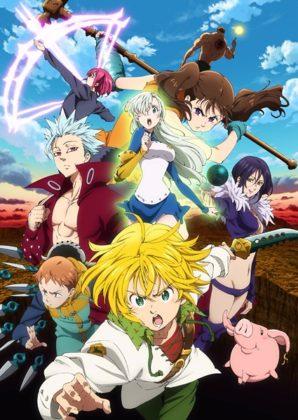 Capa do anime Nanatsu no Taizai: Imashime no Fukkatsu 2° temporada