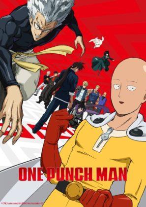Capa do anime One Punch Man 2ª temporada