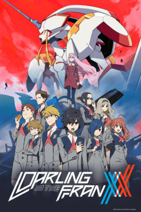 Capa do anime Darling in the Franxx