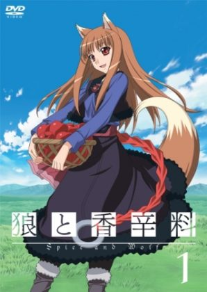 Capa do anime Ookami to Koushinryou (Spice and Wolf)