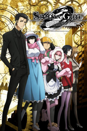 "Capa do anime Steins;Gate 0 ""Zero"""