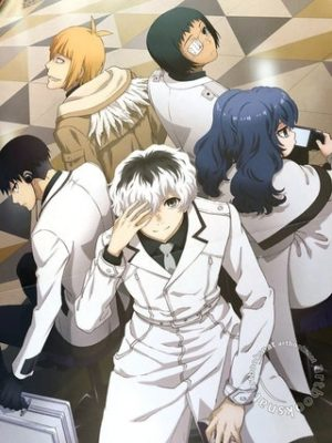 Capa do anime Tokyo Ghoul:Re 3° temporada