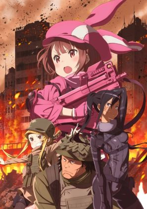 Capa do anime Sword Art Online Alternative – Gun Gale Online