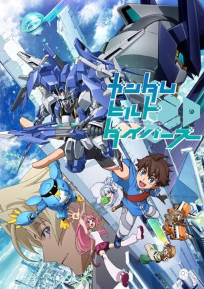Capa do anime Gundam Build Divers