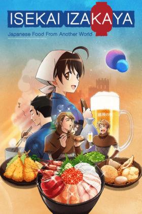 Capa do anime Isekai Izakaya: Koto Aitheria no Izakaya Nobu