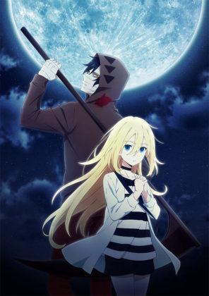 Capa do anime Satsuriku no Tenshi