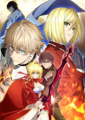 Capa do anime Fate/Extra: Last Encore – Parte 2