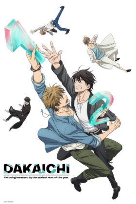 Capa do anime Dakaretai Otoko 1-i ni Odosarete Imasu.