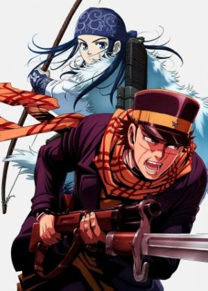 Capa do anime Golden Kamuy 2° Temporada