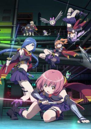 Capa do anime Release the Spyce